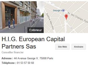 HIG Paris photo
